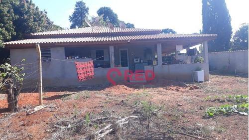 Chácara Com 3 Dormitórios À Venda, 1150 M² Por R$ 415.000,00 - Monte Bianco - Araçoiaba Da Serra/sp - Ch0022