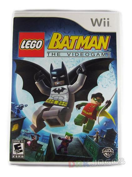 Lego Batman Original Americano Novo Lacrado Wii Frete Grátis