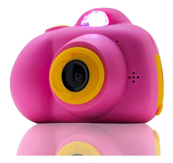 Câmera Filmadora Digital Mini Infantil Lcd Jogo Cartoon Kids