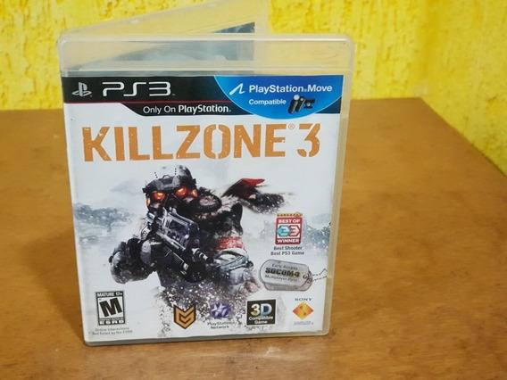 Killzone 3 Usado Manuais Ps3 Mídia Física.