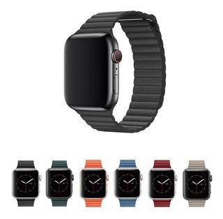 Pulseira Couro Loop Para Apple Watch 40mm 38mm