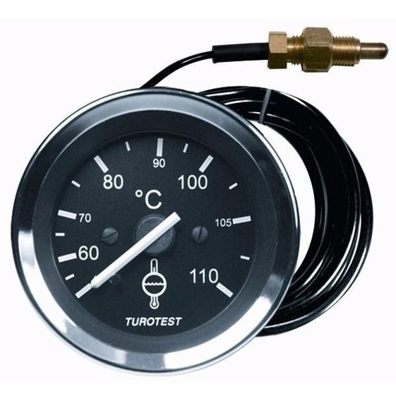 Indicador Temperatura Universal 60mm 40 A 110 Com Bulbo
