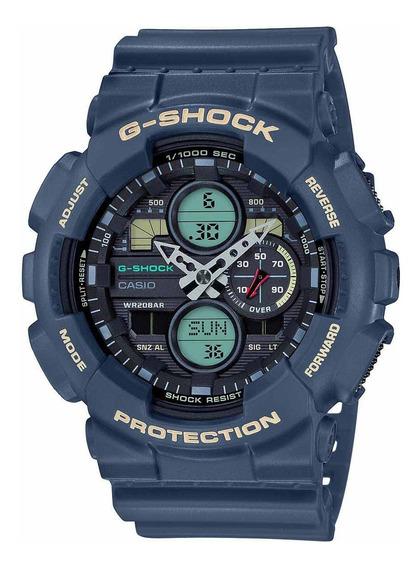 Relógio Casio Masculino G-shock Anadigi Standard Ga-140-2adr