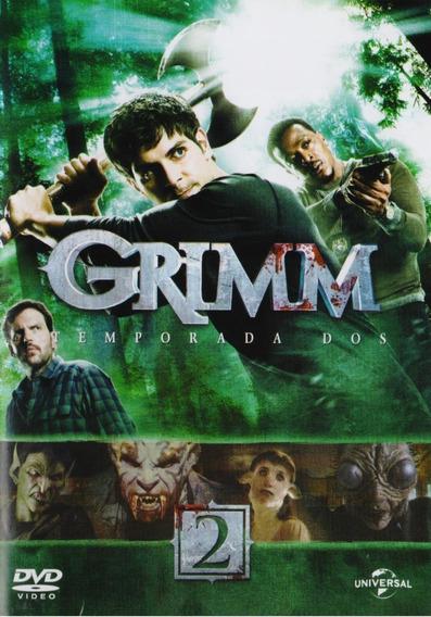 Grimm Segunda Temporada 2 Dos Dvd
