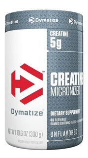 Creatine Micronized Dymatize 300g - Creatina Micronizada