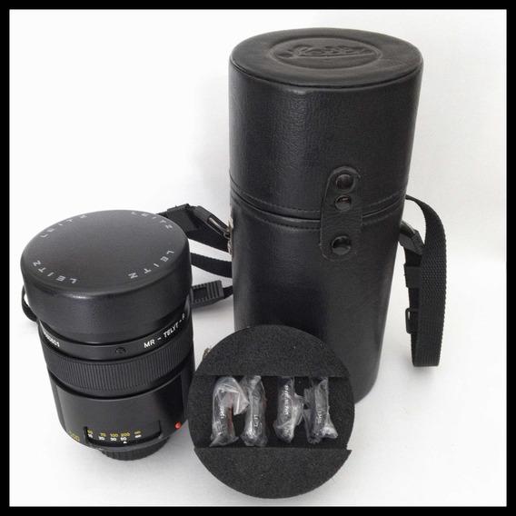 Leitz Telyt 500mm 8.0 Reflex Novíssima Para Nikon Com Case