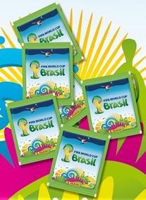 6 Envelopes Pacote Figurinhas Lacrado Album Copa 2014