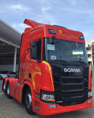 Imagem 1 de 9 de Scania R450 Herois Da Estra