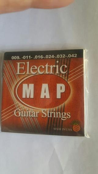 Cuerdas Para Guitarra Electrica Map 10 Vds