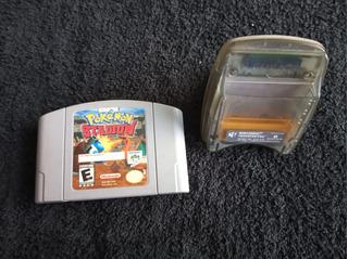 Pokémon Stadium Para Nintendo 64 + Transfer Pack