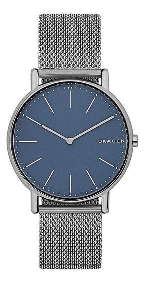 Relógio Skagen Signatur Slim Grafite Skw6420/1an