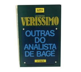 Livro O Analista De Bagé 42ed Luis Verissimo Português B5963