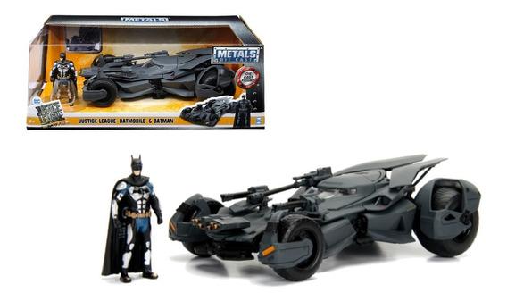 Auto De Colección Metal Batimovil & Batman Justice League