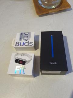 Vendo Samsung Galaxy Note 10+ + Galaxy Buds + Galaxy Fit!