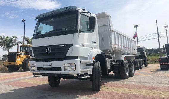 Mercedes Benz 6x4 - Axor 2831 - 2009 - Caçamba= 2540,2544
