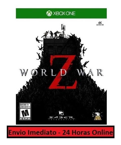 World War Z Jogo + Todo Conteúdo Extra Xbox One Digital