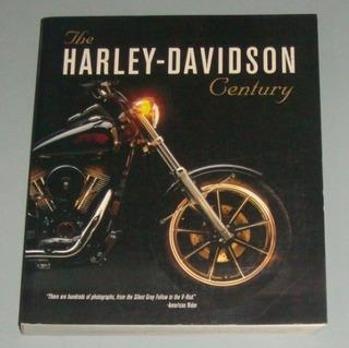 Motos - Livro The Harley-davidson Century (inglês)