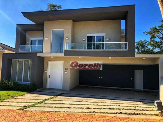 Casa Com 4 Dormitórios À Venda, 462 M² Por R$ 3.400.000,00 - Gênesis 1 Alphaville - Barueri/sp - Ca1621
