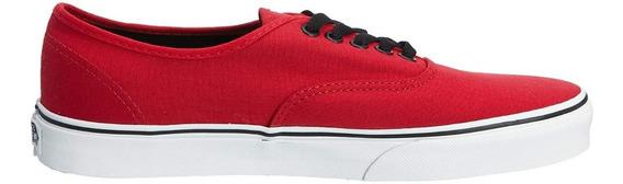 Tenis Vans Hombre Rojo Chili Pepper/black Vn000njv2ka
