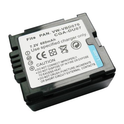 CARGADOR Panasonic vdr-m-30 vdr-m-50 vdr-d-120 Batería