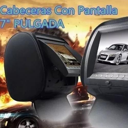 Kit De Cabeceras Con Pantalla Doble Dvd Full Hd Usb Sd