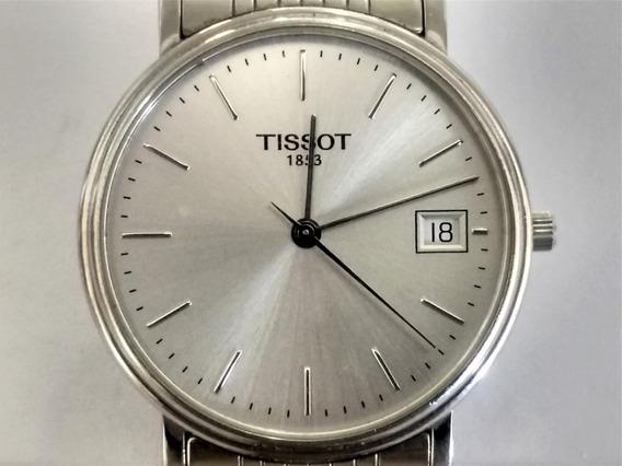 Relógio Antigo Tissot Mod. 1853 Day T 870 - 970 Cristal Espes. 6 Mm