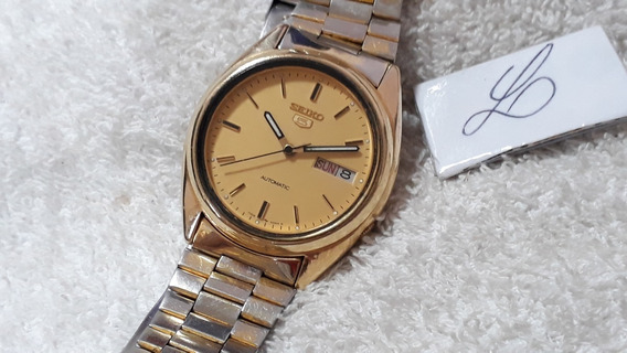 Relógio Masculino Seiko 7009 - Lindo - 2 Pulseiras !