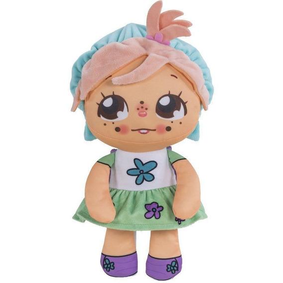 Boneca Ana Flipkins + 1 Cutie Pet Flipe E Cresça - 4732 Dtc