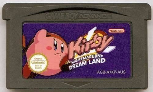Kirby Nightmare In Dreamland Game Boy Advance Gba Nds Lite
