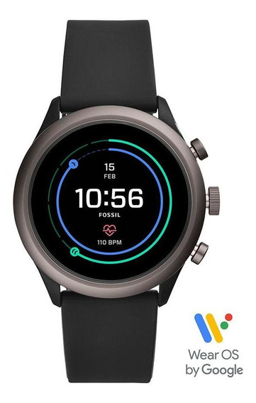 Smartwatch Fossil Sport Unissex Grafite Ftw4019/8fi