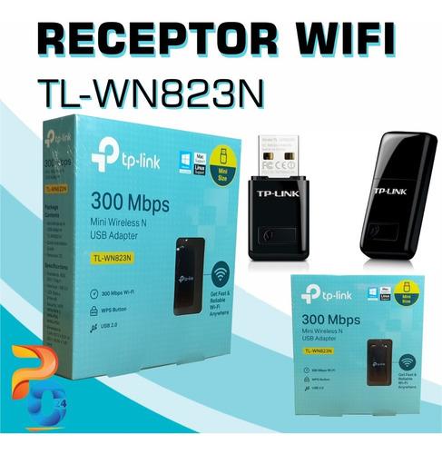Imagen 1 de 1 de Adaptador Usb Wifi Tp-link Tl-wn823n 300mbps Pc-mac Wireless