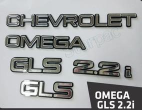 Adesivo Chevrolet Omega Gls 2.2 1995 1996 Decalque Omega 2.2