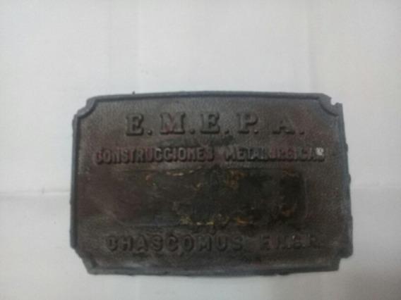 Placa Antigua Ferrocarril - Fngr - Emepa