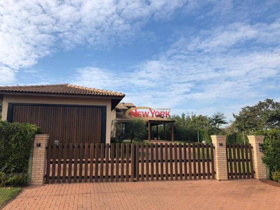Casa Com 3 Dormitórios À Venda, 307 M² Por R$ 1.300.000 - Condomínio E Loteamento Vila Pinhal - Itirapina/sp - Ca1230