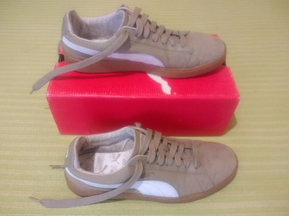 Zapatillas Puma Basket Classic Canvas. Nro 44