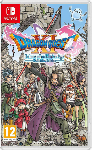 Dragon Quest Xi Echoes Of An Elusive Age S Switch Mídia Físi