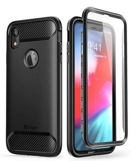 Carcasa Rígida Para iPhone Xr ( Incluye Protector De Pantall