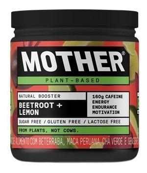Pré Treino Mother Nutrients - Natural Booster Lemon
