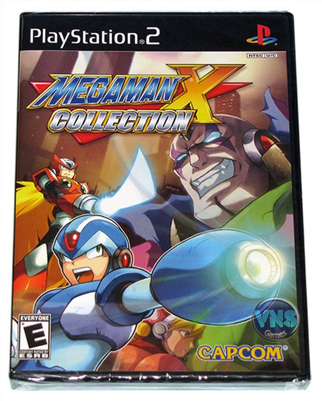 Mega Man X Collection - 7 Jogos - Original - Lacrado