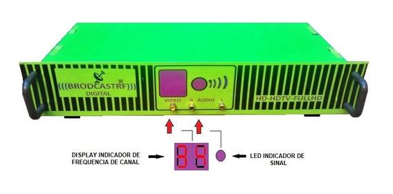 Transmissor De Tv 5a6km Digital Hd-hdtv-fullhd-profissional
