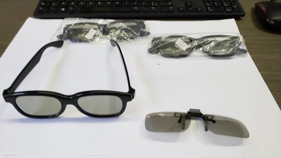 Óculos 3d Original Philips Para Tv - Kit Com 4