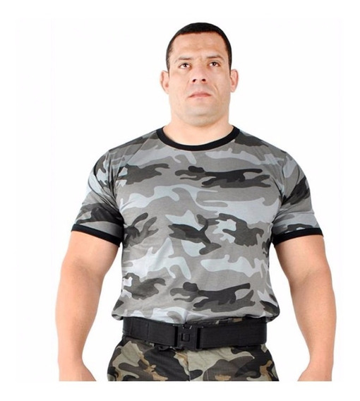 Camiseta Camuflada Urbano Original E Oficial