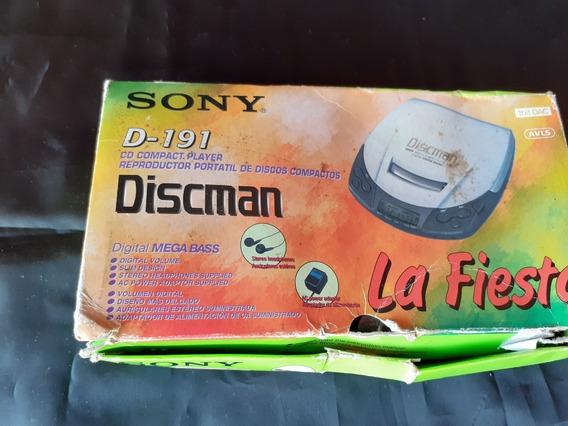 Discman D-191 La Fiesta Obs Em Otimo Estado , Sem Teste