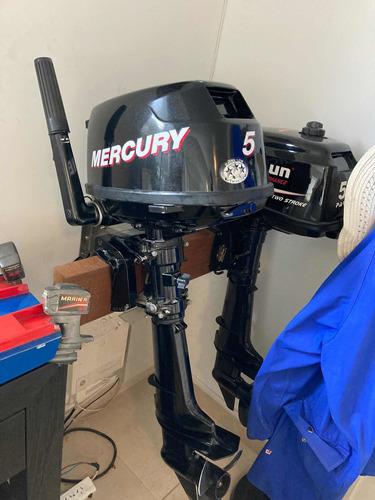 Mercury 5hp Igual A Nuevo 1 Tanque De Uso
