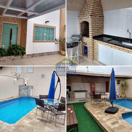 Imagem 1 de 30 de Maravilhosa Casa Com Piscina, Banheira, Quintal Espasoço!!!! - Vant4951