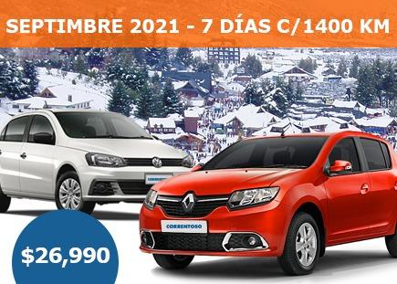 Imagen 1 de 1 de Alquiler De Autos En Bariloche