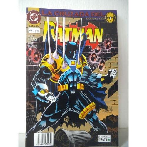 Batman La Cruzada Del Murcielago Tomo 1 Editorial Vid