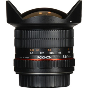 Rokinon Fisheye 12mm F/2.8 Ed As If Ncs Umc- Nikon F Mount