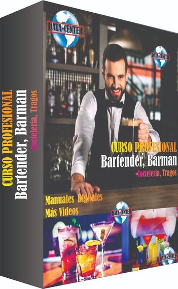 Aprenda Bartender, Barman, Coctelería, Tragos