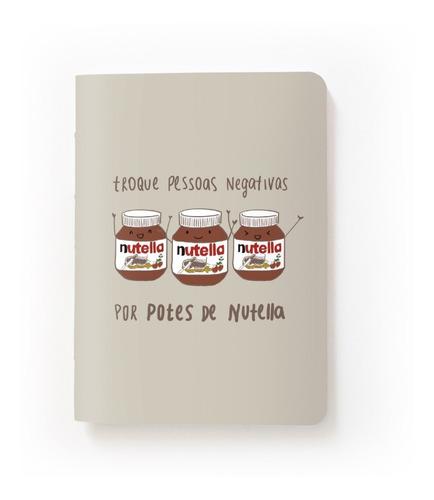 Caderninho - Nutella